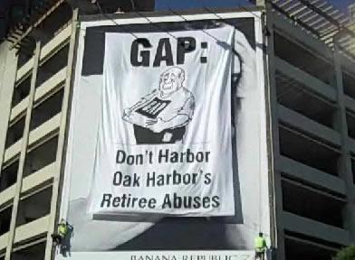 Gap-banner