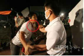 Attack on reporter - Korea